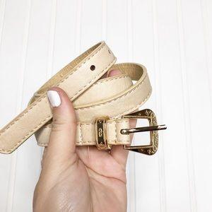 Western Vegan Leather Belt